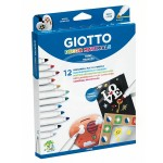 PENNARELLO GIOTTO DECOR MATERIALS 12 PZ