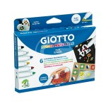 PENNARELLO GIOTTO DECOR MATERIALS 6 PZ
