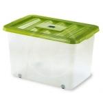 BOX CON RUOTE 60X40X37 60LT