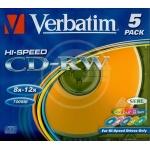 CD-RW VERBATIM 43167 RISCRIVIBILE
