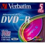 DVD-R VERBATIM 43557 SLIMCASE