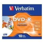DVD-R VERBATIM 43521 STAMPABILE