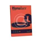 RISMA LUCE 200GR 50FG. A4 ROSSO SCAR.