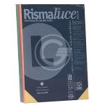 RISMA LUCE 200GR 50FG. A4 MIX COLORI F.