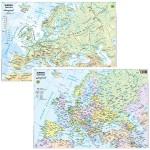 CARTA GEOGRAFICA EUROPA