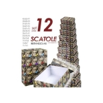 SET 12 SCATOLE DECORO MOTO