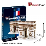 KIT 3D IN FOAM CUBICFUN ARCO DI TRIONFO