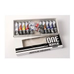 SET 12 COLORI ONE ACRYLIC 20ML