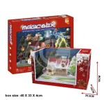KIT 3D IN FOAM CUBICFUN MAGIC BOX NATALE