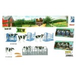 1:32 COW FARM PLAY SET - FATTORIA MUCCHE