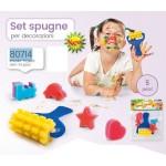 PAINTING SET 5 PZ. CON RULLO