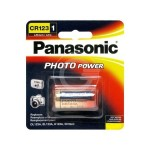 BATTERIA LITHIO/ PHOTO CR123  PANASONIC