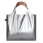 SHOPPER LOQI METALLIC SILVER/GOLD DB.MM