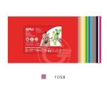 GOMMA EVA 5 FG 400X600 ROSA