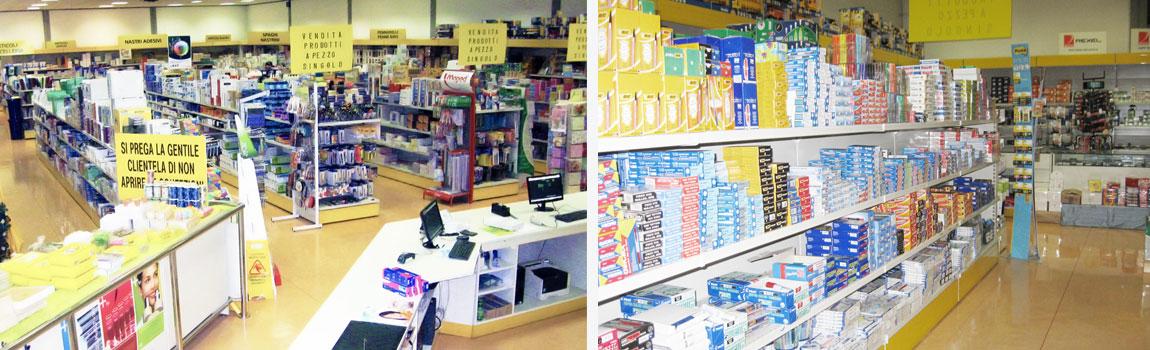 negozio Francesco Ambrosi - ingrosso cancelleria Trento