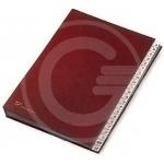 CLASSIFICATORE A-Z 640/E 24X34 ROSSO