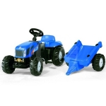 ROLLYKID NEW HOLLAND T 7040 C. RIMORCHIO
