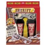 CINTURONE DOPPIO SHERIFF