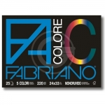 CARTELLA FABRIANO COLORE 24X33 5 COLORI