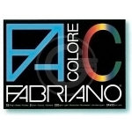 CARTELLA FABRIANO COLORE 33X48 5 COLORI