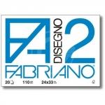CARTELLA FABRIANO F2 24X33 20 FG.SQUAD.
