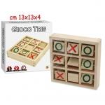 GIOCO TRIS IN BOX DA VIAGGIO  CM 12X12X3