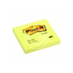 BLOCCO POST-IT NEON 76X76 GIALLO 654-NY