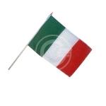 BANDIERA ITALIA IN TESSUTO CM 30X18 CON