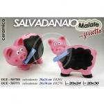 SALVADANAIO MAIALE C/GESSO
