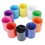 BICCHIERE PORTAPENNE COLOR ABS