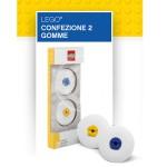 GOMME LEGO BLU GIALLO CONF. 2 PZ