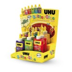 COLLA GLITTER GLUE UHU 88,5 ML
