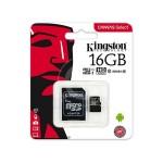 KINGSTON SDCS/16GBSP MICRO SD 16GB